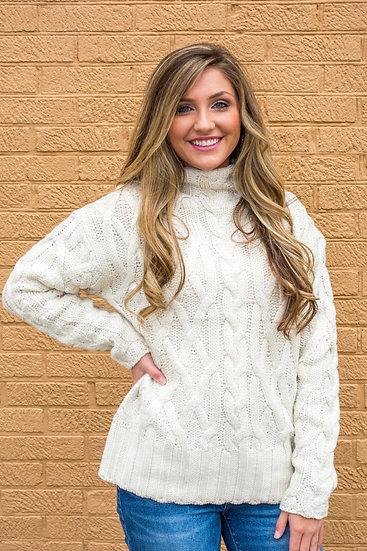 Chunky Cream Sweater