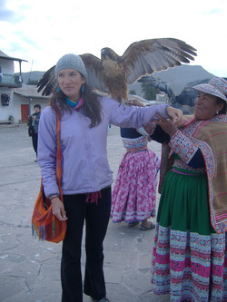 BIG Talons in Arequipa, Peru