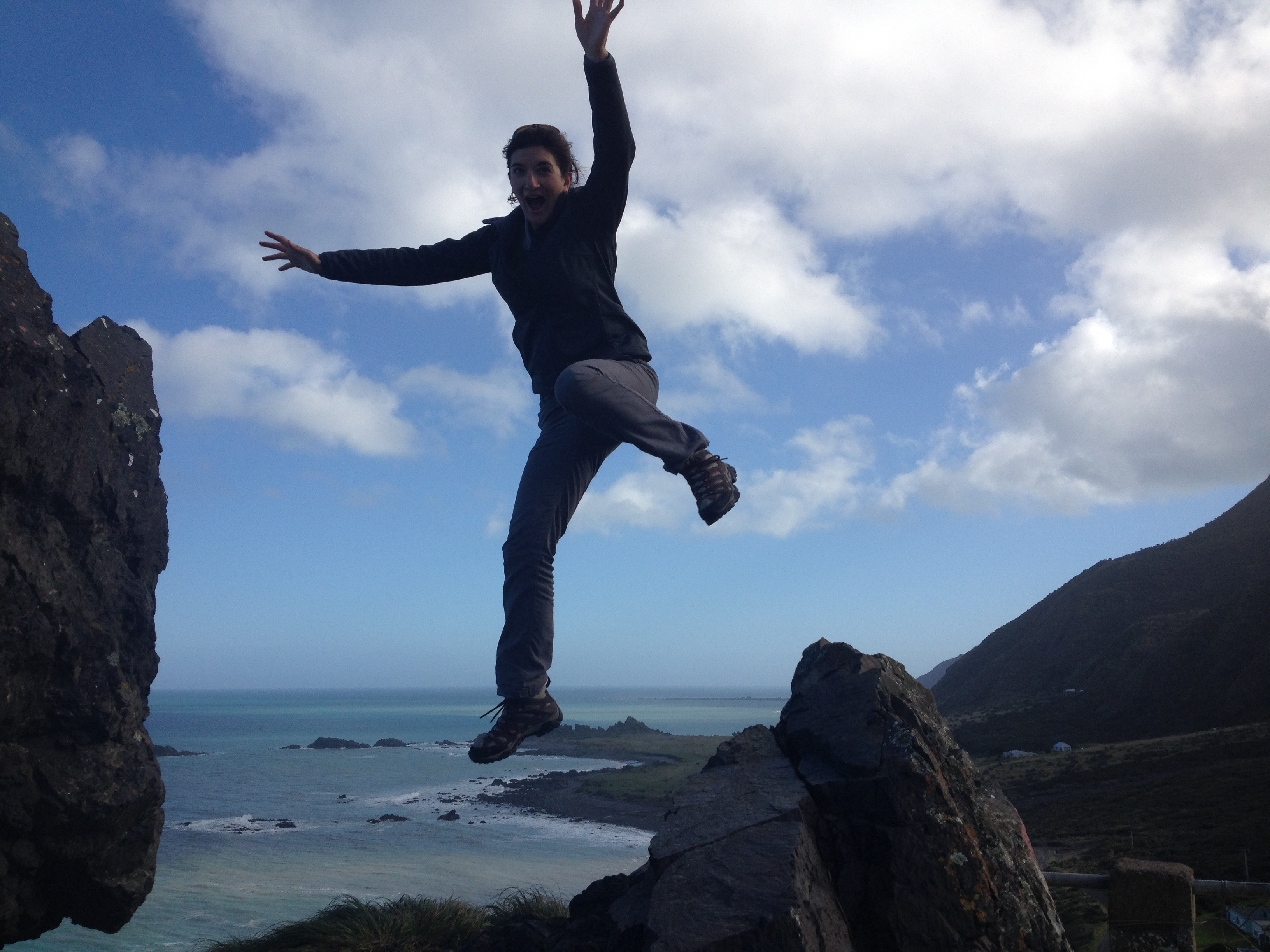 Catching air in New Zealand
