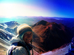 Volcano Chachani 20,000 ft (Peru)