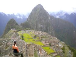 Macchu Pichu after trekking the Inca Trail