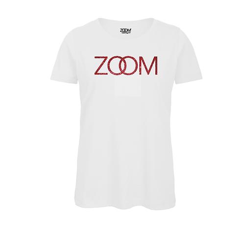 Zoom Glitters - White