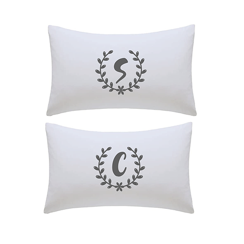 Personalised Initial Pillowcases