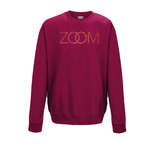 Zoom Glitters - Cranberry