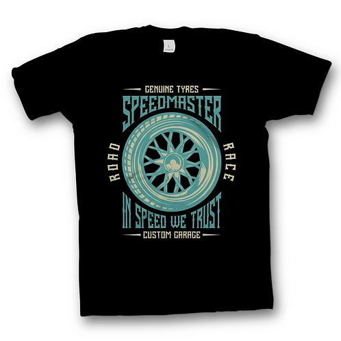 In Speed We Trust Tee