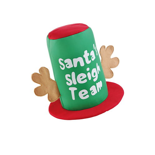 Santa's Sleigh Team Hat