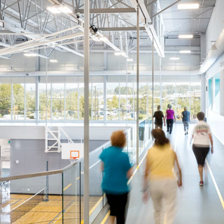 A universally accessible family-oriented community amenity centre.