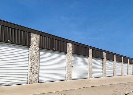 Self-Storage units; Mini-storage units in Ennis, TX