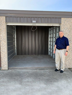 Manager on-site at self-storage facility; great customer service