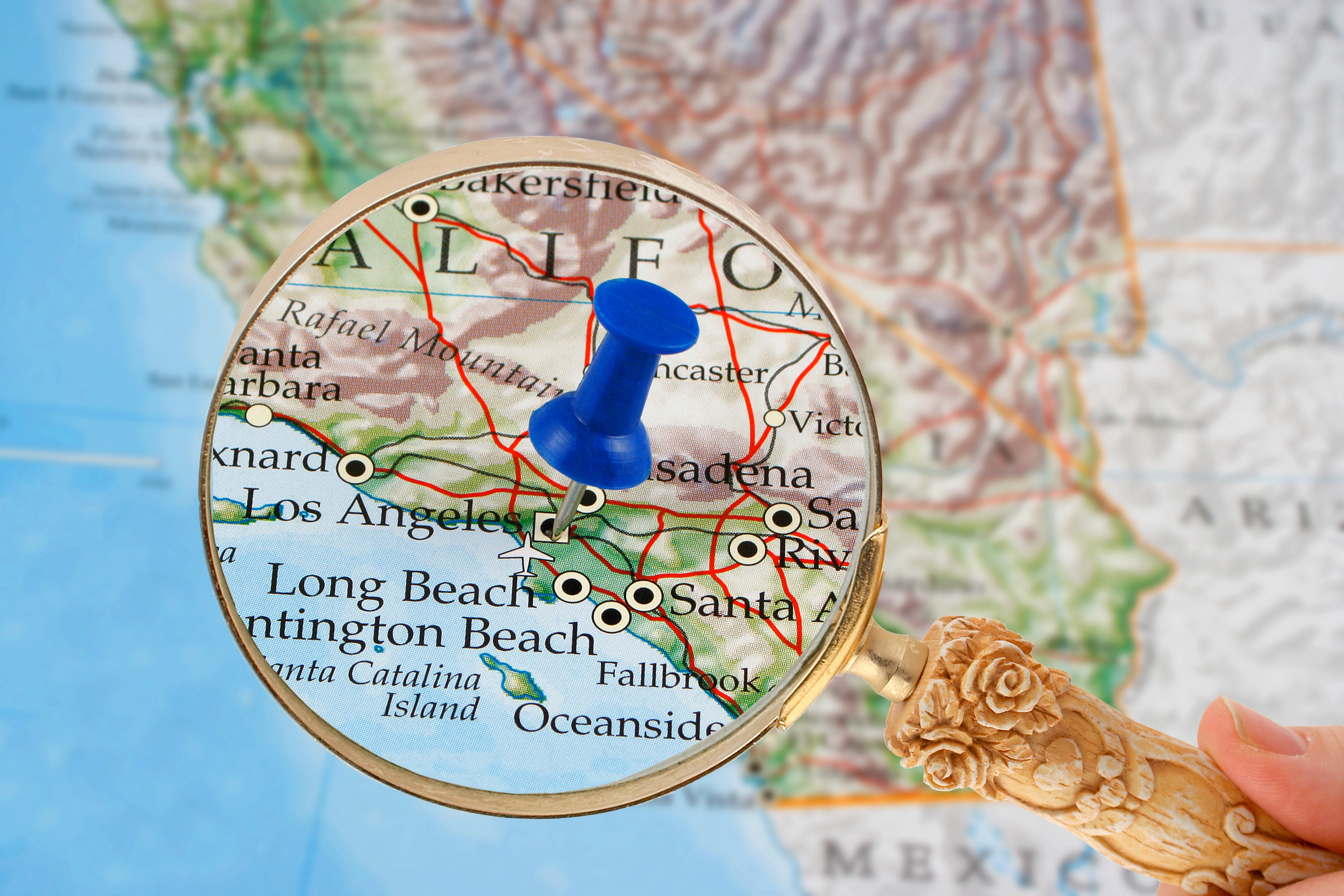 bigstock-Los-Angeles-Map-1331590