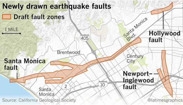 Group Delta Santa Monica Fault Map Released