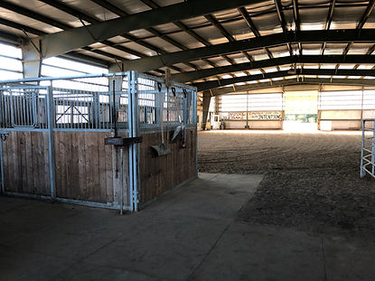 Arena at Spirit's Whisper Ranch