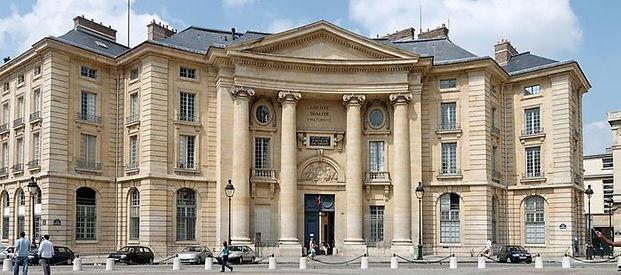 Fronton de l'université de la Sorbonne