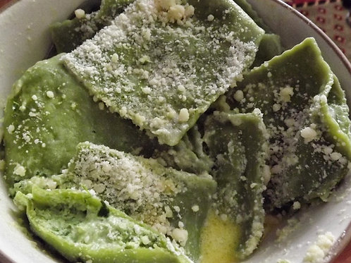 Asparagus Mascapone Ravioli