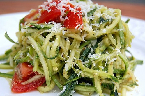 Basil Garlic Pesto Pasta