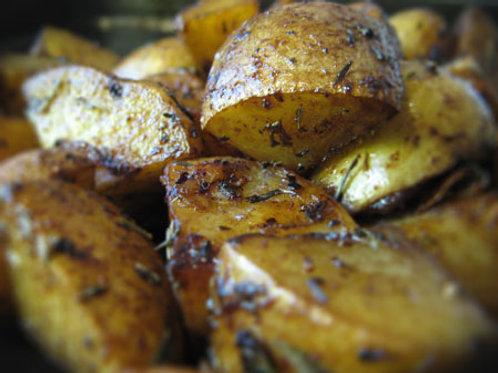 Oven Roasted Potatoes Extra Individual Serving