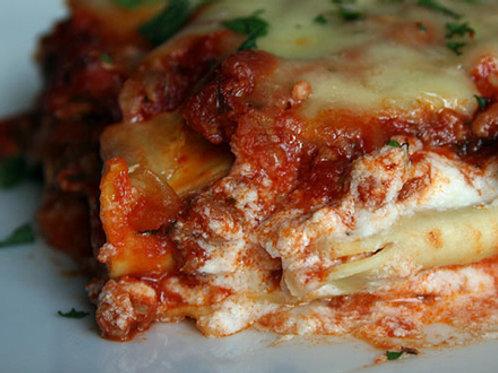 8 x 8 Whole Lasagna Meat Serves 4