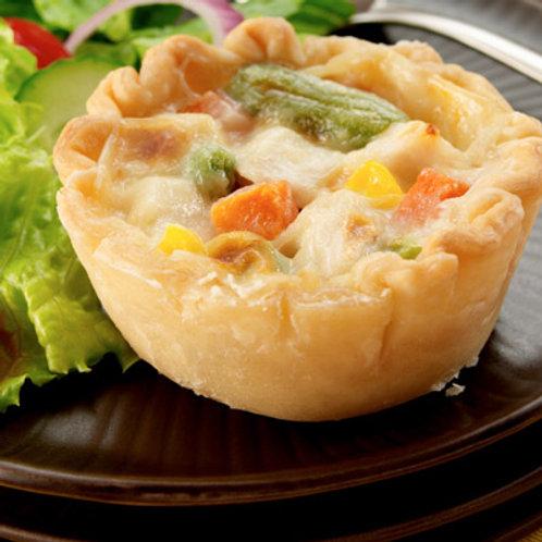 6 individual Chicken Pot Pie