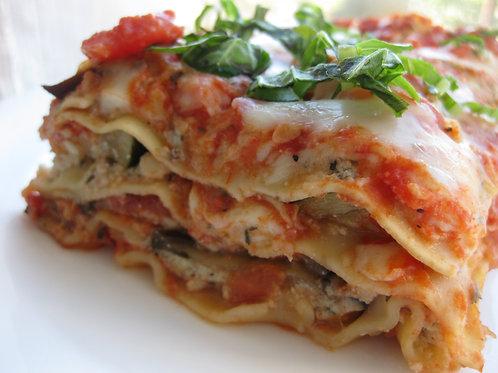 Vegetarian Lasagna Serves 6