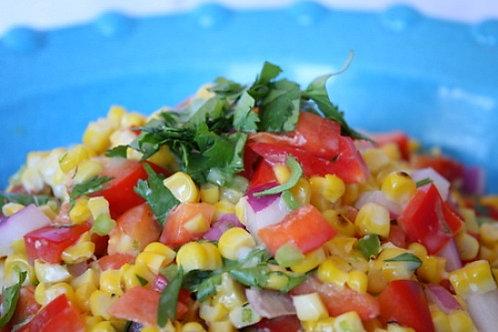Roasted Corn Salad Side