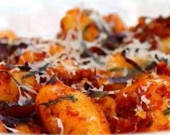 Potato Gnocchi with Sun-Dried Tomato Pes