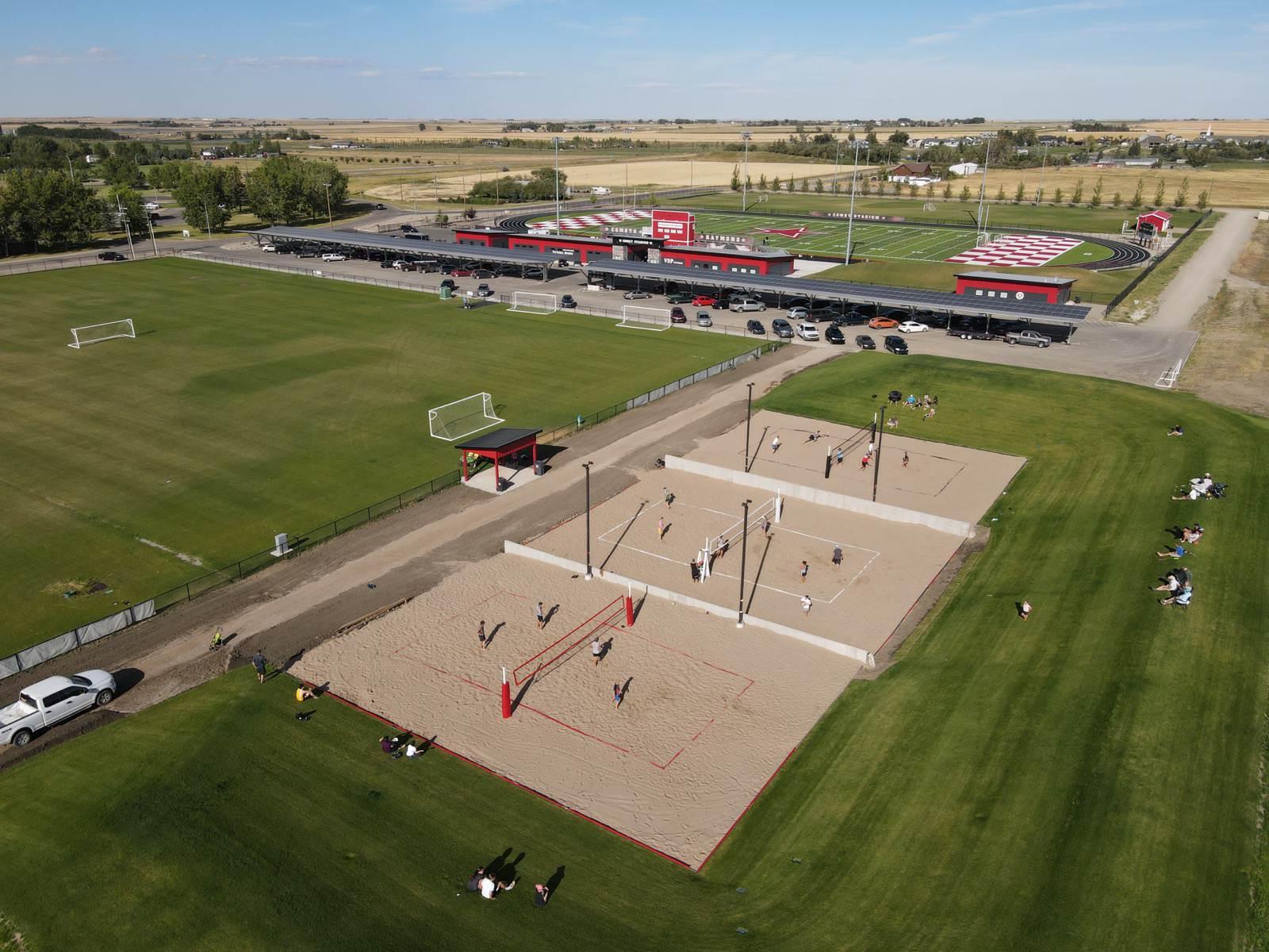Beach Volleyball at Victoria Sport's Park