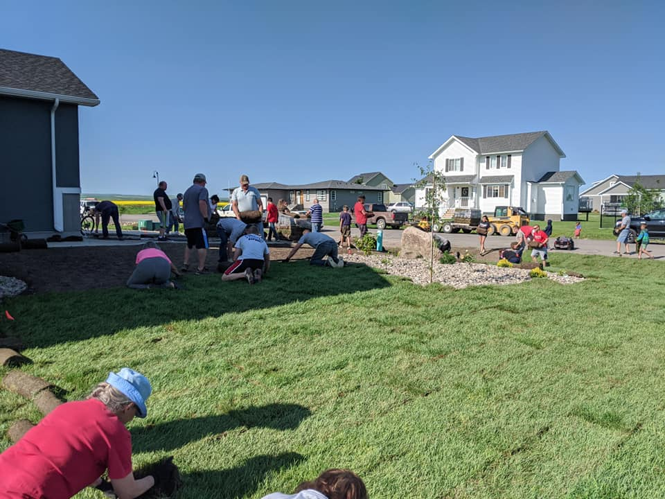 StoneGate Sod Party