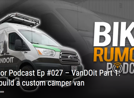 VanDOit Featured in Bike Rumor's Podcast