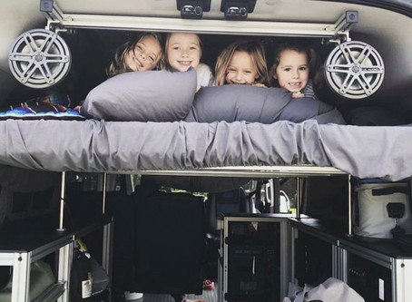 10 Tips for Camper Van Camping with Kids