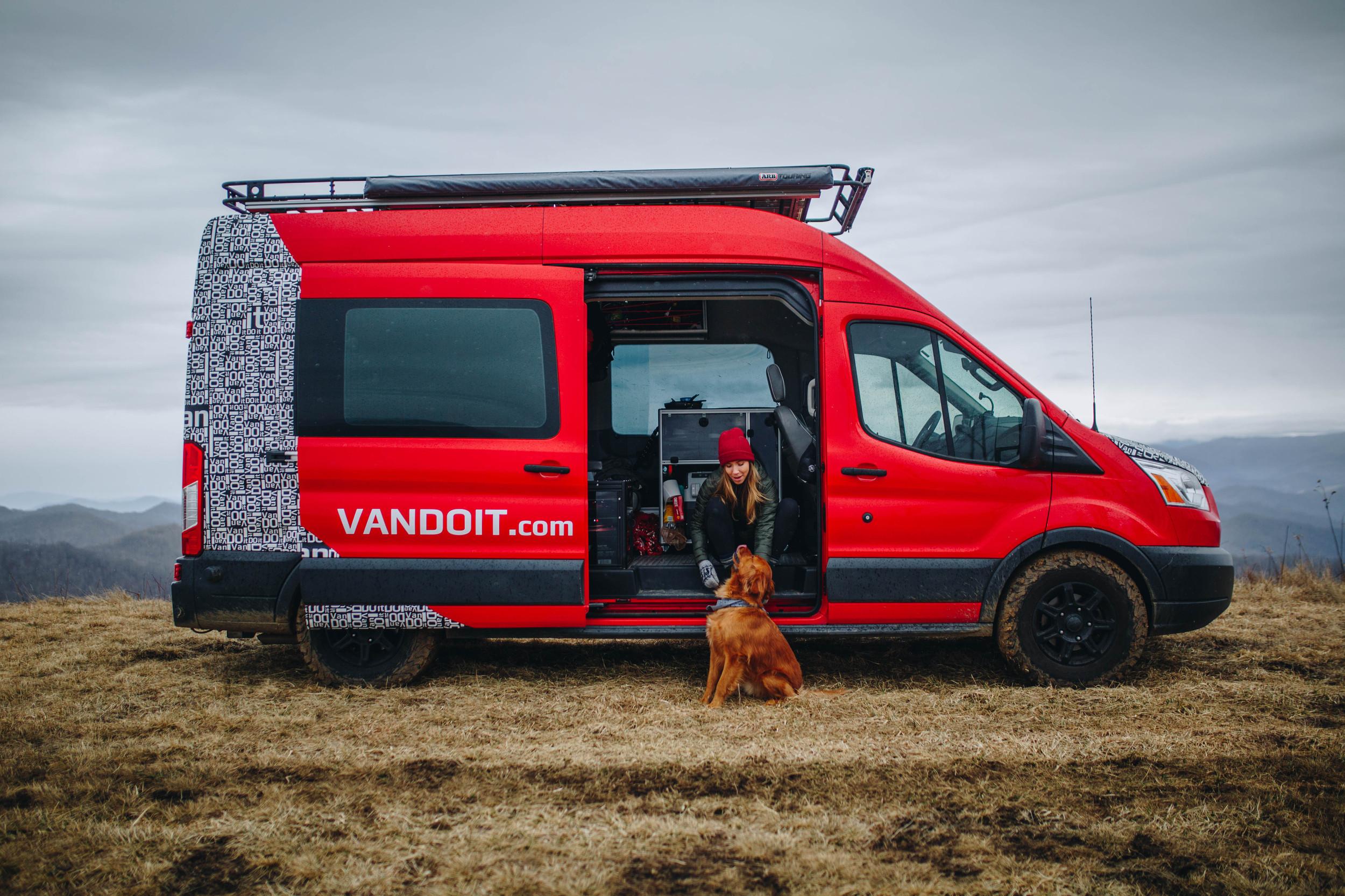 VanDOit - Custom Camper Vans, Ford Transit - You VanDOit