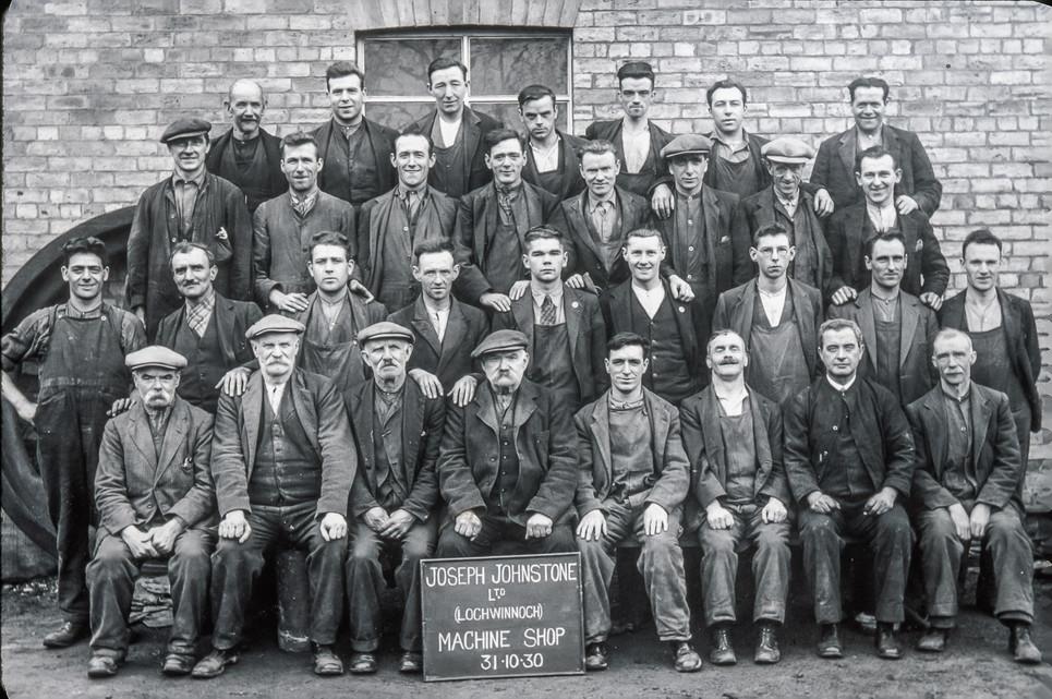 Machine Shop 31st Oct 1930