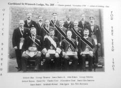 Garthland St.Winnoch Lodge 1905