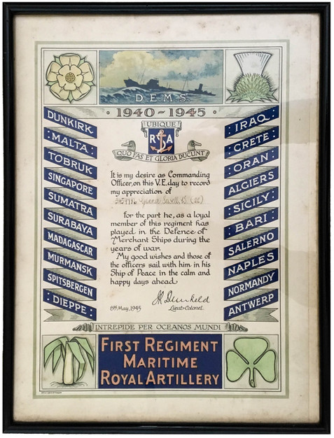 First Regiment MRA