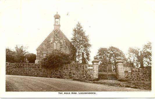 The Auld Kirk, Lochwinnoch, 1920.j