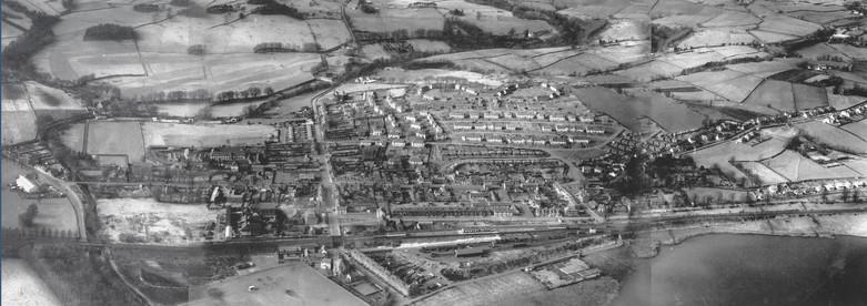 Aerial Panarama of Lochwinnoch