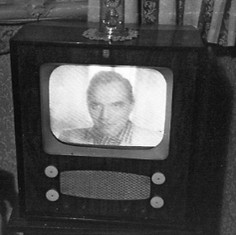 Our first TV set