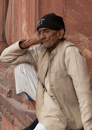 Just resting my eyes, India