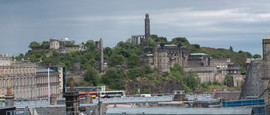 Edinburgh looking towards Calton Hill