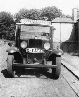 A Struthers delivery lorry.