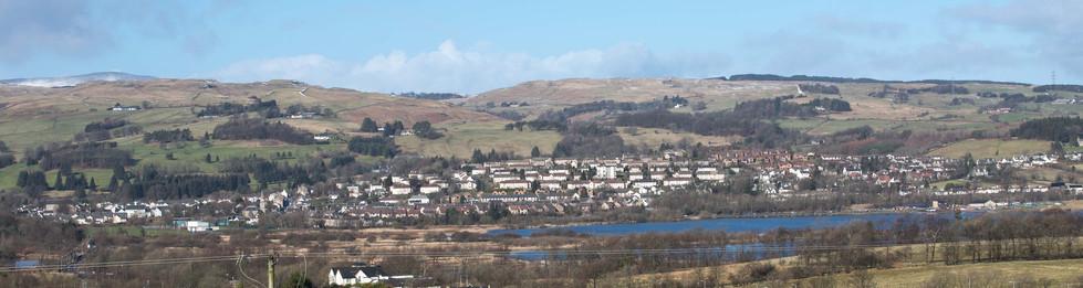 Lochwinnoch from Roadhead