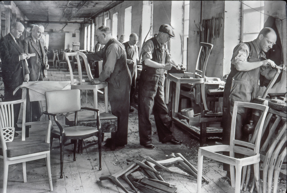 Chair Carcasses being made