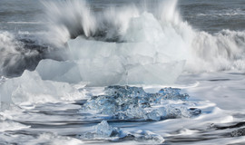 Jokulsarlon Glacier Lagoon Beach 1