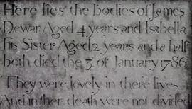 Auld Simon Headstone