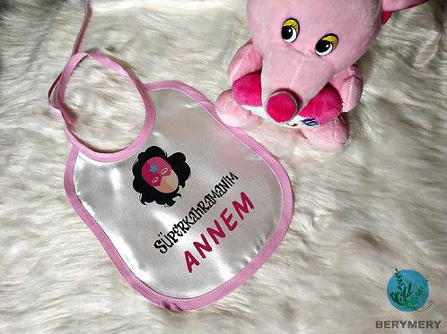 Kız Bebek Mama Önlüğü Serisi