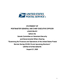 STATEMENT FROM POSTMASTER GENERAL AND CEO LOUIS DEJOY