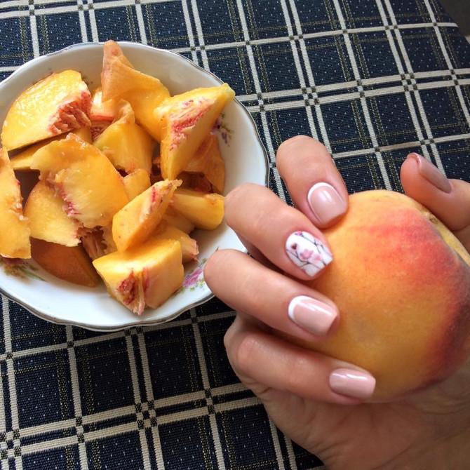 Персики - диетические?