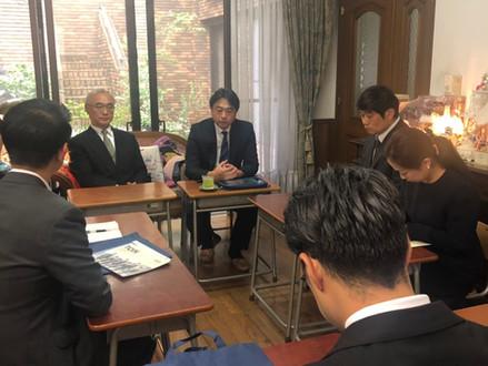 桐蔭学園小校長先生をお迎えし懇親会を開催しました
