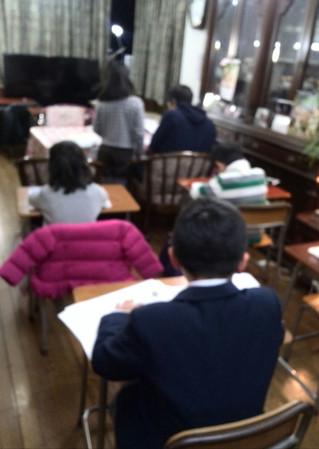 年長の生徒さんが桐蔭小に満点で合格!