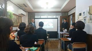 桐蔭学園幼小部説明会を行いました。