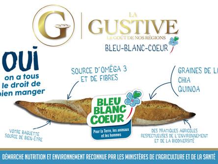 Nouveau ! Gustive Bleu-Blanc-Coeur